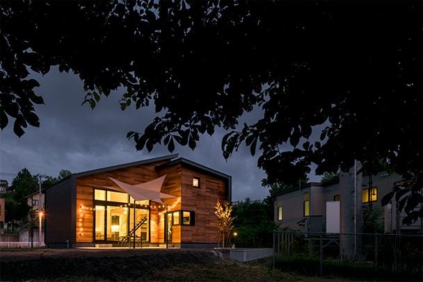 川辺の森ビレッジ常設展示場「自然の家」